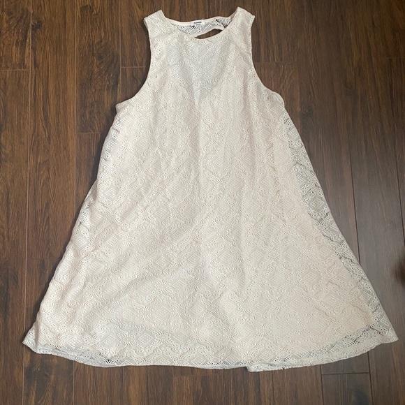 Cream lace Babydoll dress